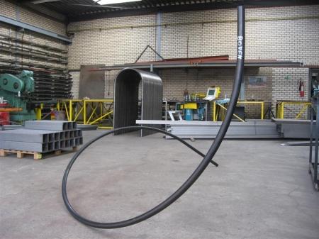 3D Spiltrapleuning walsen buis Ø42.4x2.6